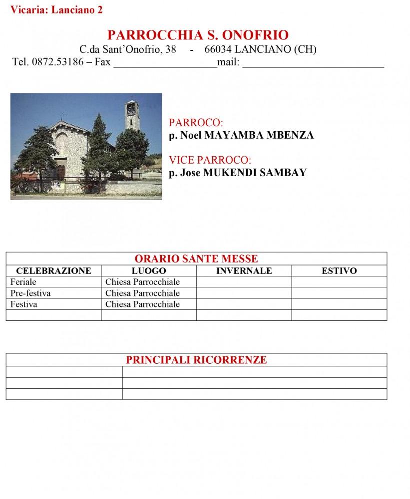 Parrocchia S. Onofrio